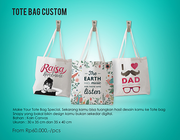 Image result for Tote Bag Murah snapy